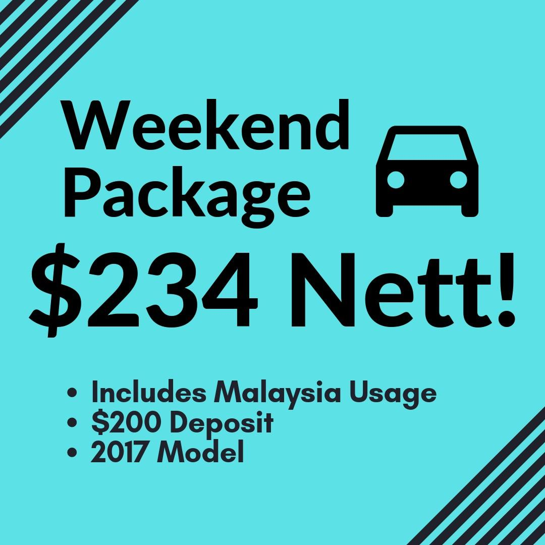 WEEKEND CAR RENTAL CHEAP