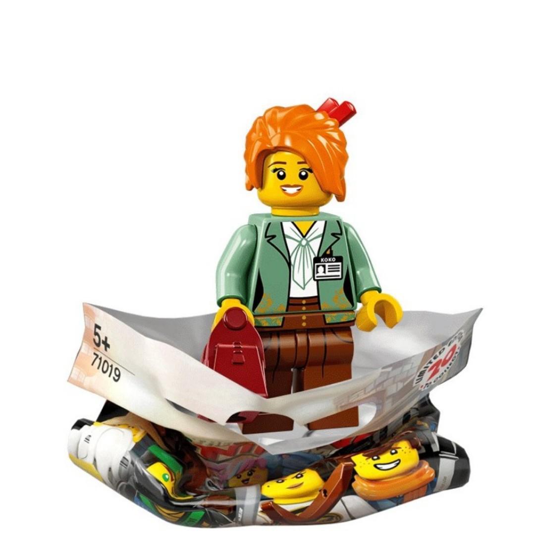 (WTB) LEGO NINJAGO Movie Minifigure 71019 Misako (Koko)