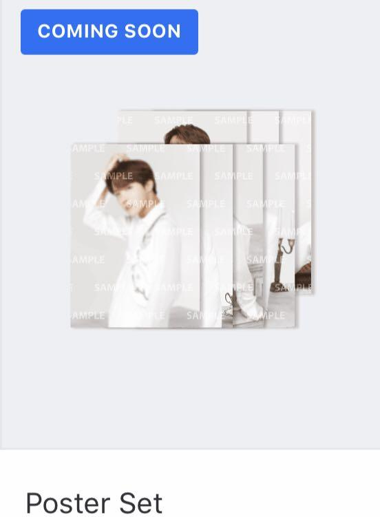 [WTS/LOOSE] BTS SPEAK YOURSELF FINAL MERCH POSTER SET SYS