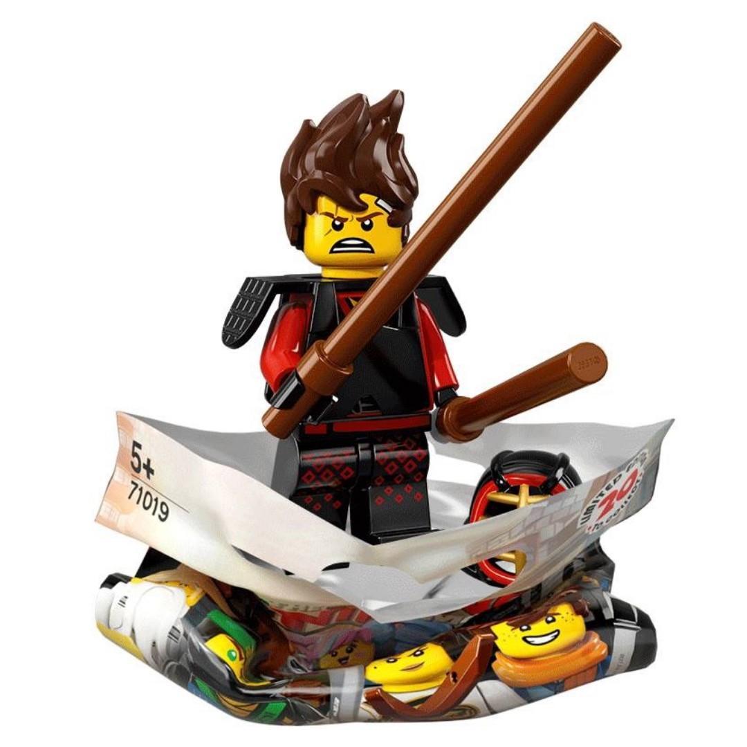 (WTS/WTT) LEGO NINJAGO Movie Minifigure 71019 Kai Kendo (Accept Trades as well)