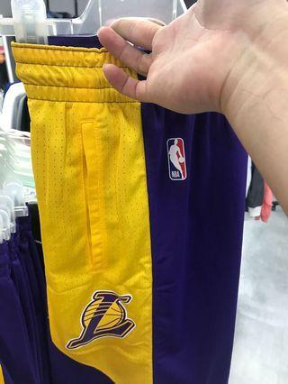 Nike NBA湖人球褲 Lakers XL