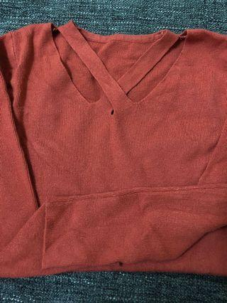 #五折清衣櫃 超柔軟棉質性感造型長袖