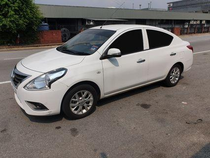 Car Rental - Nissan Almera (A) / Kereta Sewa