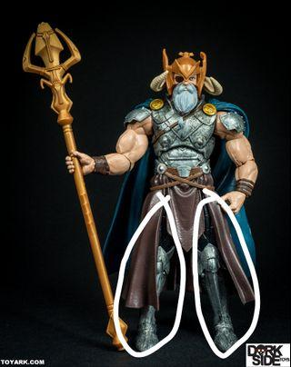 WTB Marvel Legends All father odin BAF PARTS