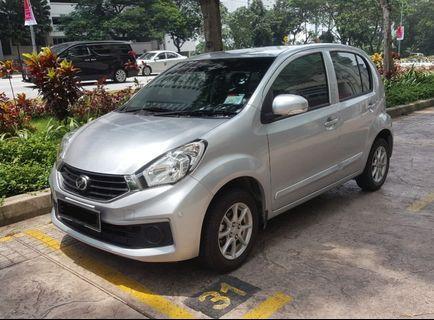 Car Rental - Perodua Myvi (A) / Kereta Sewa