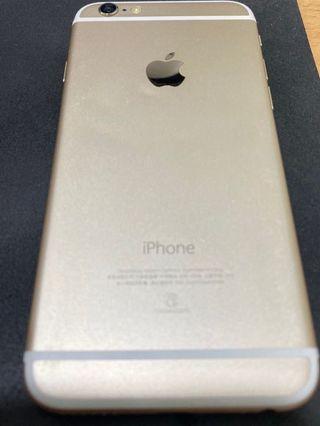 降價出清👏免運 iPhone 6 16G 六七成新 有貼鋼化玻璃有附果凍套