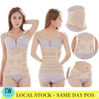 3 in 1 set Postpartum Slimming corset (bengkung bersalin)