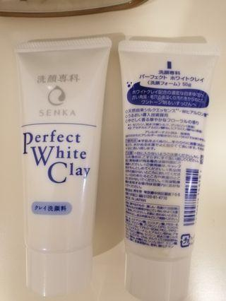 SHISEIDO Senka Perfect White Clay Cleanser