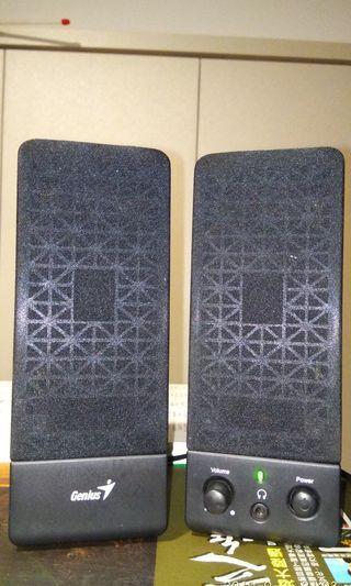 GENIUS-多媒體喇叭17×7×6.5cm