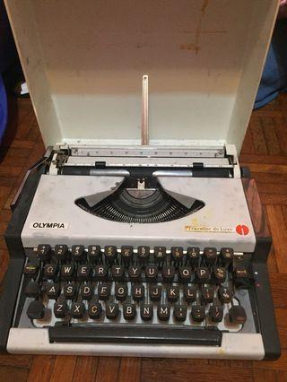 Olympia Typewriter FREE RIBBON INK already installed