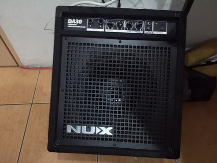 NUX DA30 Keyboard / electronic drum amplifier 30 Watts