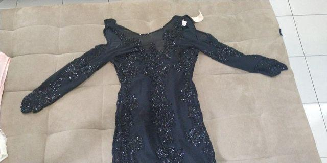 Black luxury dress