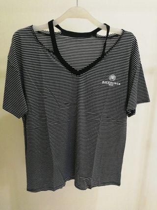 Stripe top Balenciaga #mycybersale
