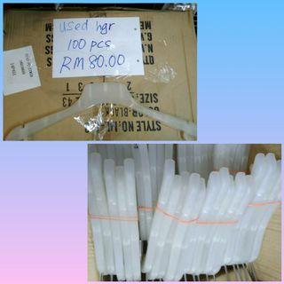 White Hanger ( 100 Pcs )