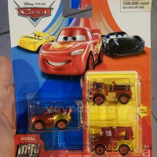 Cars rust eze series mini racers set isi 3