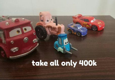 Diecast cars set