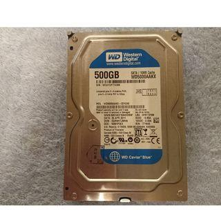 藍標 WD 500G 3.5 吋硬碟