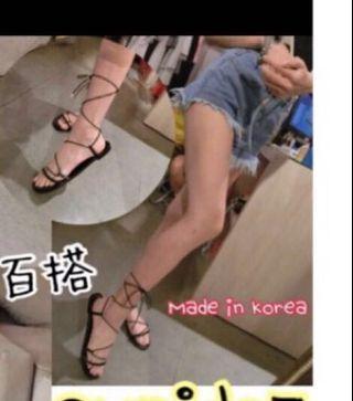 韓版羅馬鞋 尺寸36號