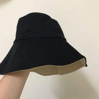 黑米 雙色漁夫帽