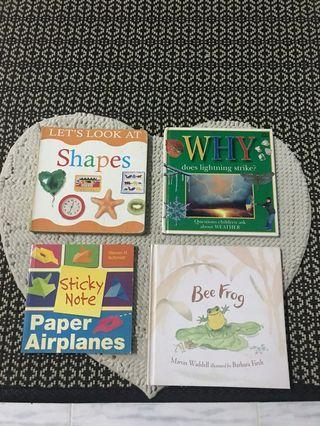 Children's learning books!