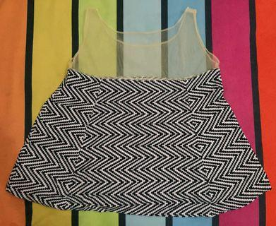 Sleeveless top singlet