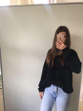 Glassons black knit