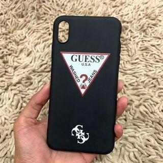NEW! Guess iphone XSMAX Case softcase