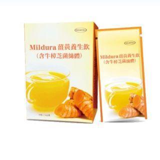 薑黃養生飲(含牛樟芝菌絲體)