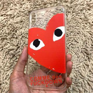 NEW! CDG Iphone XSMAX case softcase