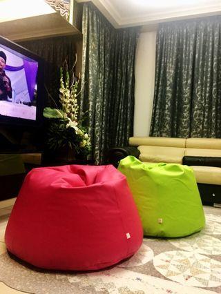 ZMBeanBag Sofa Flexible Cushion Bean Bag
