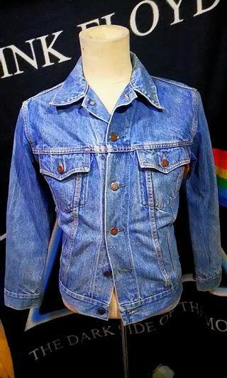 Vintage Canton denim trucker jacket