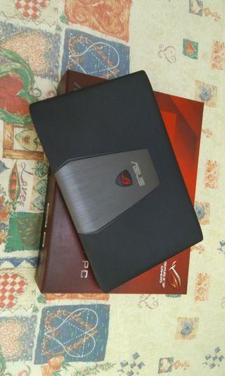 ASUS SSD 1000GB HDD 12GB Ram i7 ROG NVIDIA GeForce GTX Very Nice Full HD Screen 16 Inch Business Gaming Laptop