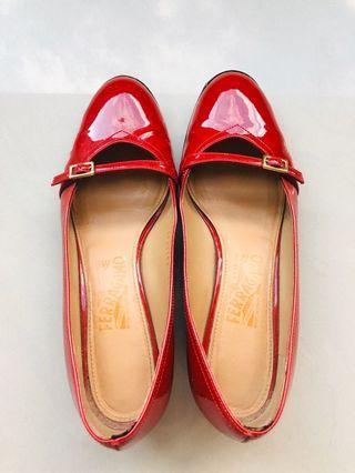 salvatore ferragamo Audrey 平底鞋