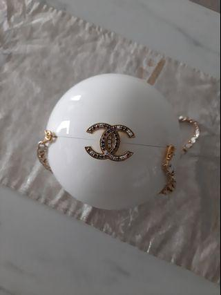 Authentic Limited Edition Chanel VIP gift pearl bag