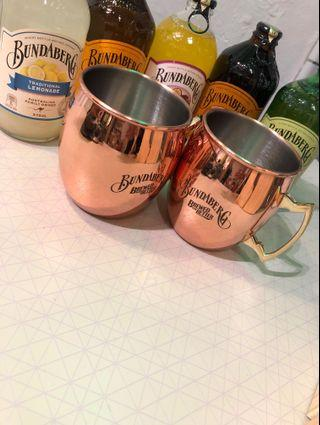 Copper Moscow Mule Mug Combo Set