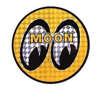 Mooneyes Hologram sticker