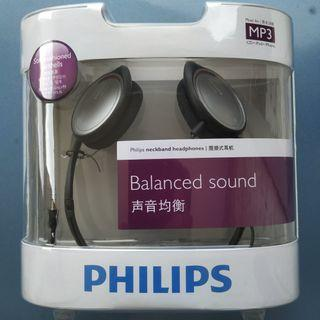 Philips SHS390 Neckband Headphones