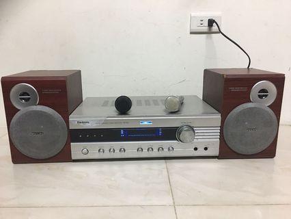 5.1 amplifier speakers set karaoke 卡拉OK擴大機 飛利浦喇叭組合
