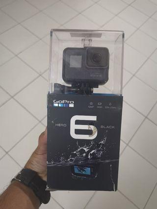 New open box GoPro Hero 6 Black