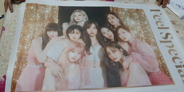 TWICE FEEL SPECIAL POSTER VERSION A