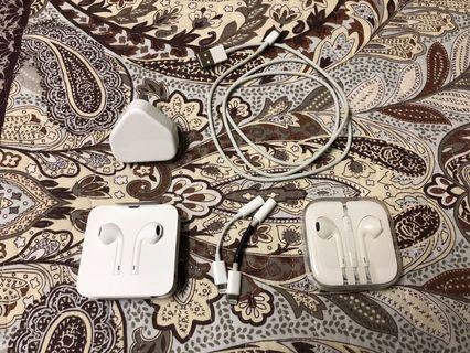 Apple earpods cable and plug original