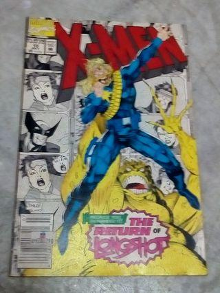 Marvel comics X-MEN