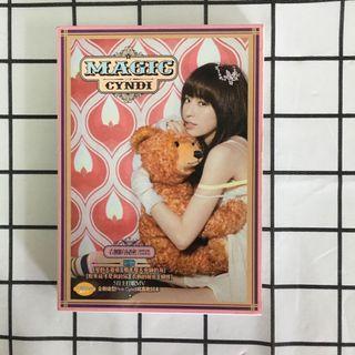 王心凌 Magic Cyndi (衣櫥的秘密冠軍影音CD+DVD)專輯 正版 絕版 甜蜜教主 粉紅 可愛 二手 珍藏