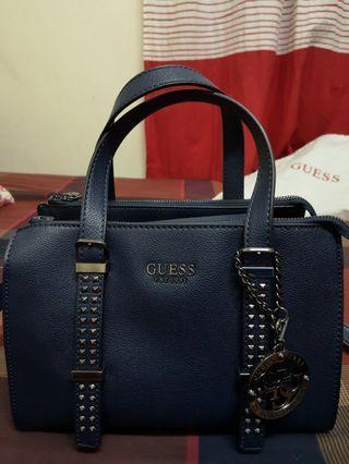 GUESS BLUE SHOULDER BAG