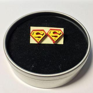 [出清]超人標誌耳環