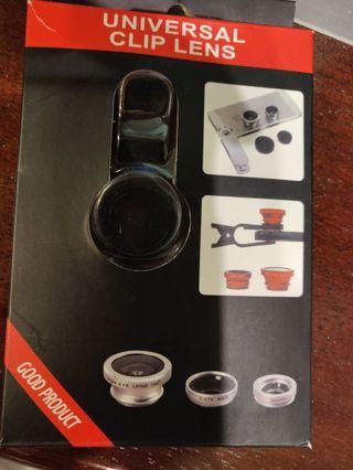 (Free!) Universal clip lens