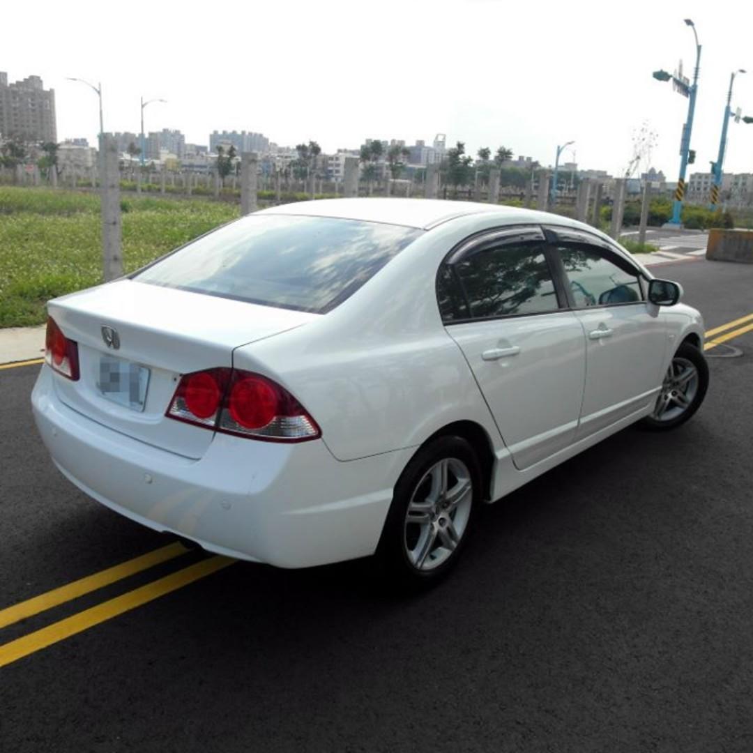 2007 Honda civic 白 1.8 『阿賢嚴選車坊』賞車專線:0908169110