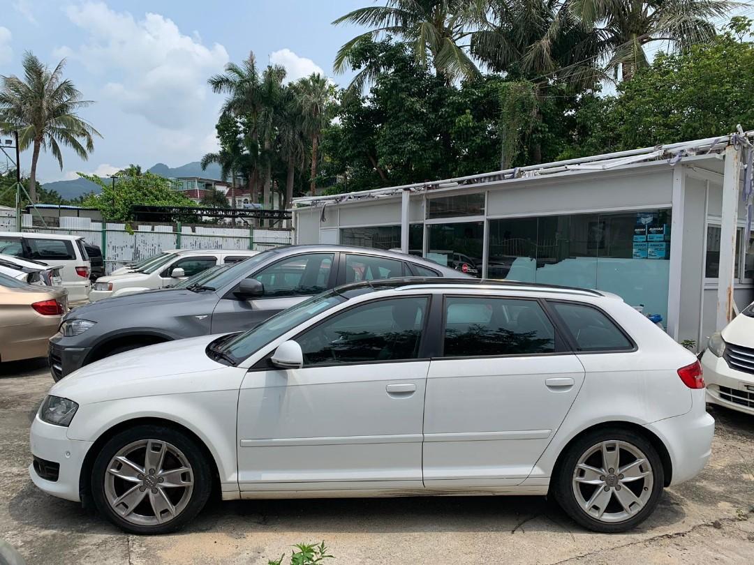 2009年 Audi A3 1.4 TFSI 09' 白色