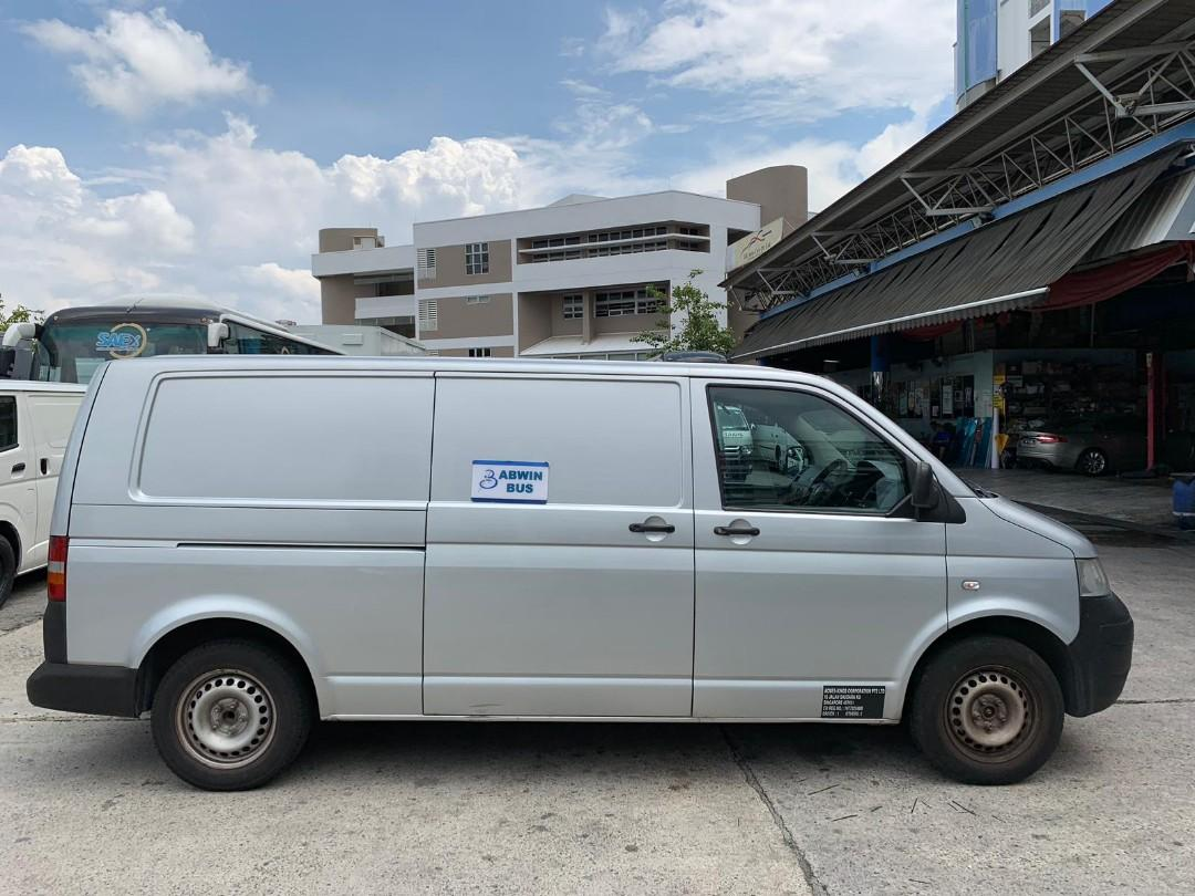 $500+ Mthly -  Volkswagen Transporter 1.9 Manual *With Brand New 5 Years COE*