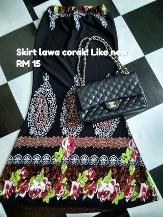 Skirt palazo baju blouse preloved murah